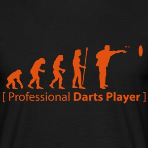 evolution_darts T-shirts - Mannen T-shirt