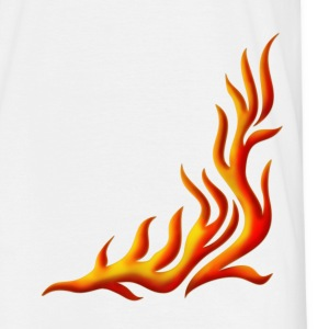 Flame / T-shirt, Motiv 1, Fire, digital, yellow, red T-Shirts - Men's T-Shirt