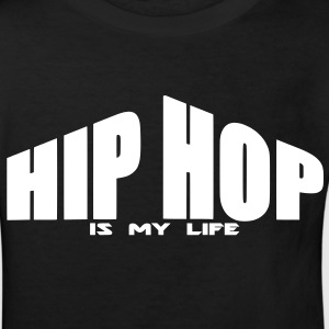 hip hop is my life Shirts - Kinderen Bio-T-shirt