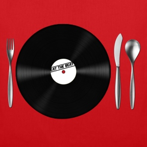 Eat the Beat / Save the Vinyl Borse - Borsa di stoffa