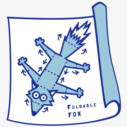 Foldable Fox
