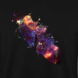 Sky painter supernova space star 04 Hoodies & Sweatshirts - Men's Sweatshirt