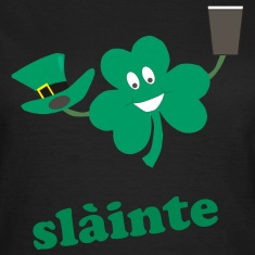 slàinte - St Patricks day black women's t-shirt