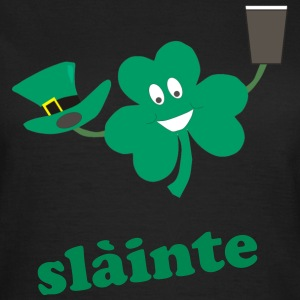 slàinte - St Patricks day black women's t-shirt - Women's T-Shirt