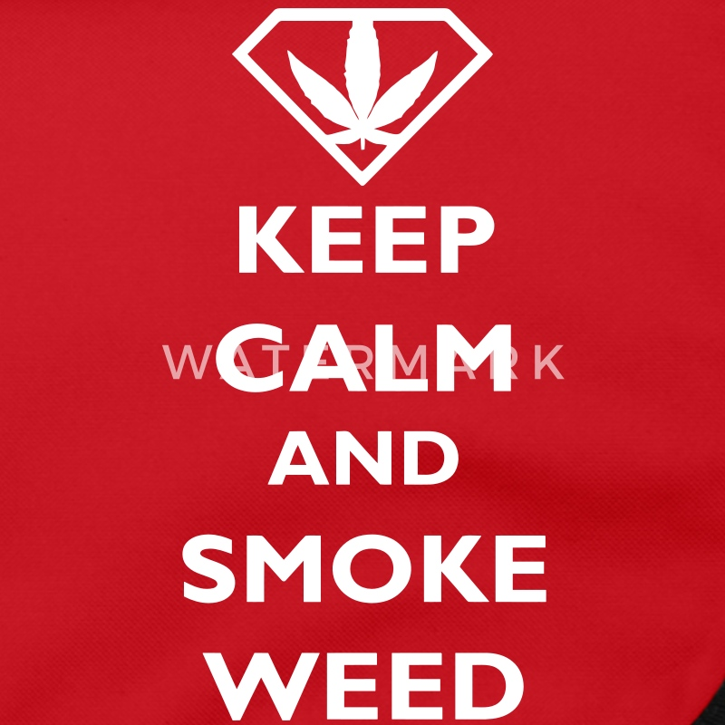 Keep Calm and Smoke Weed Väskor - Axelväska