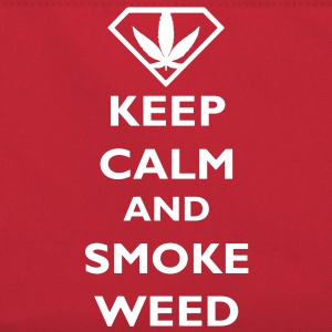 Keep Calm and Smoke Weed Taschen - Retro Tasche