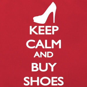 Keep Calm and buy Shoes Bags  - Retro Bag