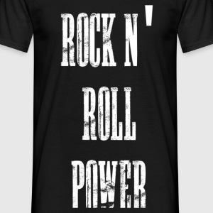 rock n' roll power Tee shirts - T-shirt Homme