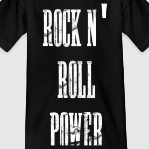 rock n' roll power T-Shirts - Kinder T-Shirt
