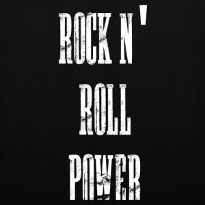 rock n' roll power Tassen - Tas van stof