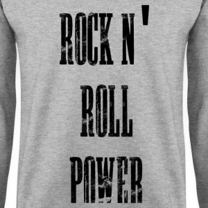 rock n' roll power Bluzy - Bluza męska