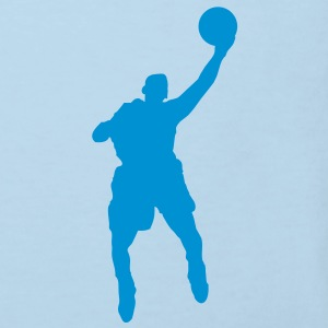 Basketball Player (Vector) - Kids' Organic T-shirt