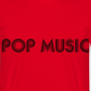 pop music T-skjorter - T-skjorte for menn