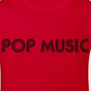 pop music Shirts - Kids' Organic T-shirt