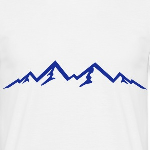 Berge, Mountains T-Shirts - Männer T-Shirt