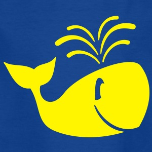 Whale - Dolphin - requin-baleine Tee shirts Enfants - T-shirt Ado