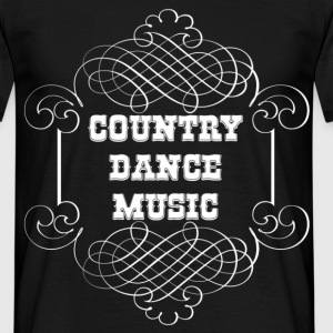 country dance music Camisetas - Camiseta hombre