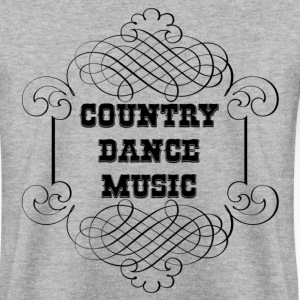 country dance music Sweat-shirts - Sweat-shirt Homme