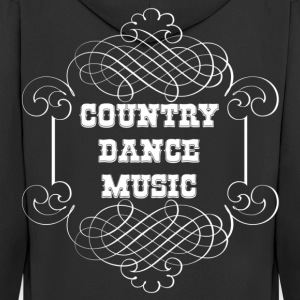 country dance music Sweaters - Mannenjack Premium met capuchon