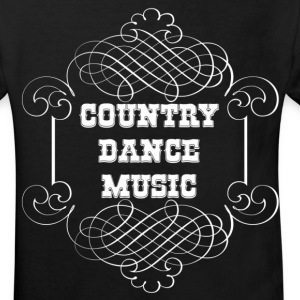 country dance music T-shirts - Ekologisk T-shirt barn