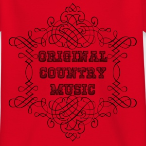 original country music T-shirts - Børne-T-shirt