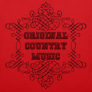 original country music bolsas - Bolsa de tela
