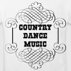 country dance music Camisetas - Camiseta ecológica niño