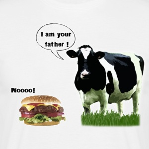 Vache I am your father - T-shirt Homme