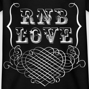 rnb love Shirts - Kinderen T-shirt