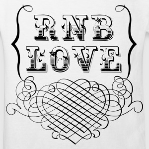 rnb love Shirts - Kinderen Bio-T-shirt