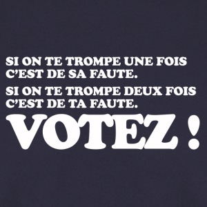 VOTEZ ! élection présidentielle Sweat-shirts - Sweat-shirt Homme
