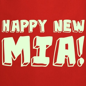 HAPPY NEW MIA! / Glow in the Dark - Cooking Apron