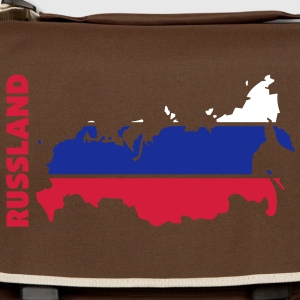 russland_umriss_flagge_50 Bags  - Shoulder Bag