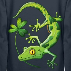 Saint Patrick's Day Gecko Hoodies & Sweatshirts
