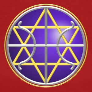 SEAL - GALACTIC FEDERATION OF LIGHT, digital, planet, alliance, star, nation, icon, symbol, symbols T-shirts - Organic damer