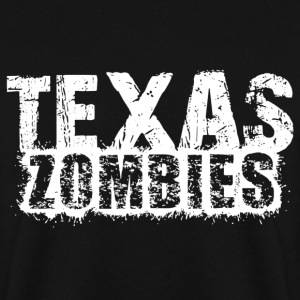texas zombies Sweat-shirts - Sweat-shirt Homme