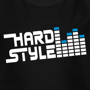 hard style hardtyle Børne T-shirts - Teenager-T-shirt