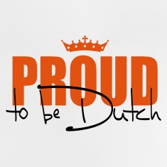 proud to be dutch  Baby Shirts