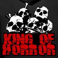Motif ~ Sweat à capuche homme king of horror