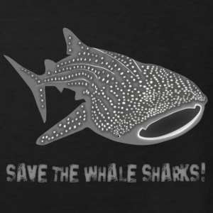 walhai wal hai fisch whale shark taucher tauchen diver diving naturschutz endangered species save the whale sharks Kinder T-Shirts - Kinder Bio-T-Shirt