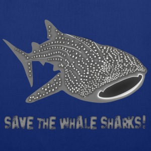 Hval hai  fisk save the whale sharks Vesker - Stoffveske