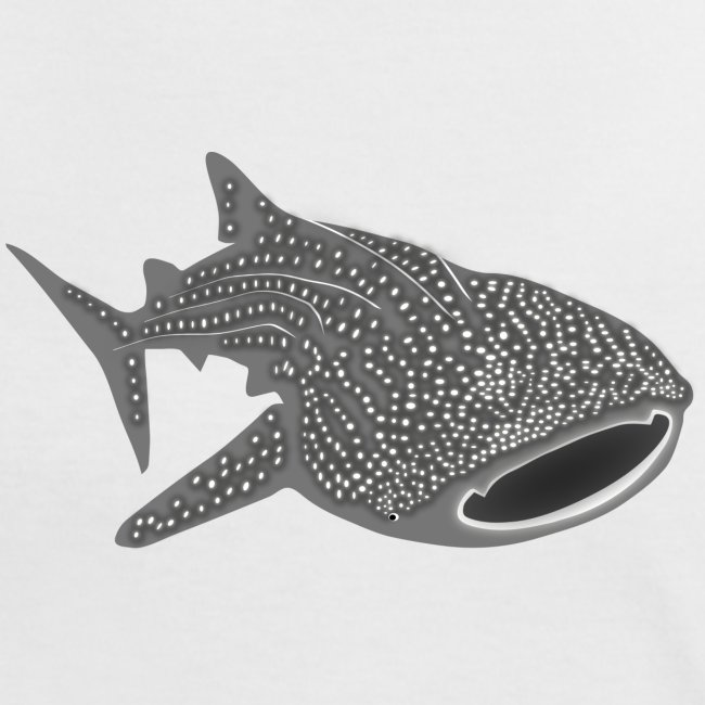 tiershirt walhai wal hai fisch whale shark taucher tauchen diver diving naturschutz endangered species