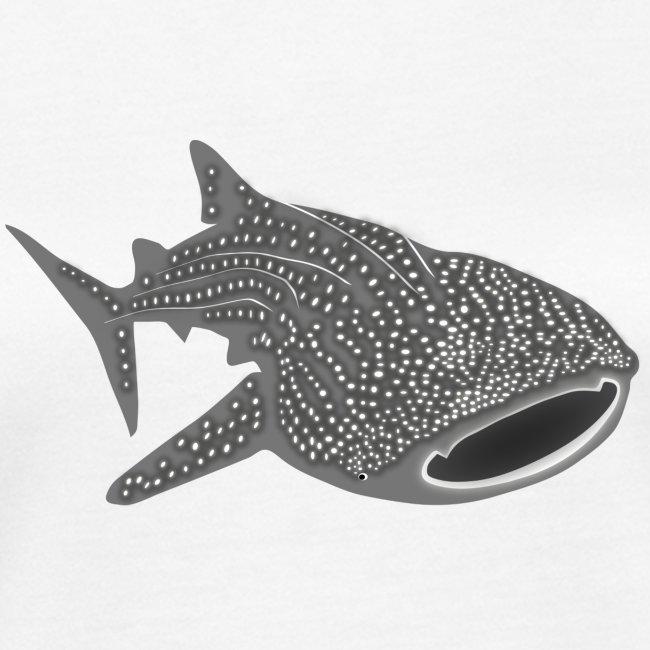 tiershirt walhai wal hai fisch whale shark taucher tauchen diver diving naturschutz endangered species