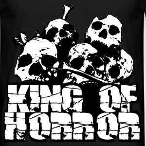 king of horror T-shirts - Herre-T-shirt