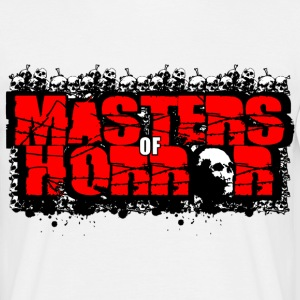 masters of horror T-shirts - Herre-T-shirt