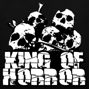 king of horror Borse - Borsa di stoffa