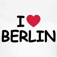 Motiv ~ I love Berlin Retro-T-Shirt