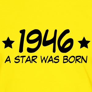 1946 a star was born (nl) T-shirts - Mannen contrastshirt