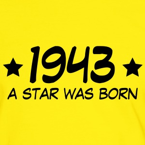 1943 a star was born (uk) T-Shirts - Men's Ringer Shirt