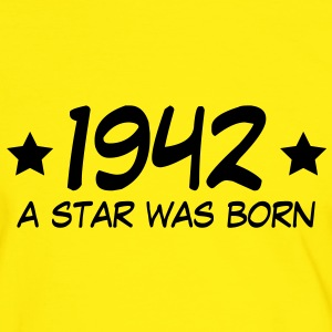 1942 a star was born (nl) T-shirts - Mannen contrastshirt
